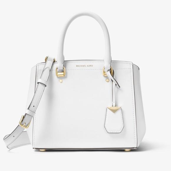 b9d61e68de3a MICHAEL Michael Kors Bags | Michael Kors Benning Medium Leather ...